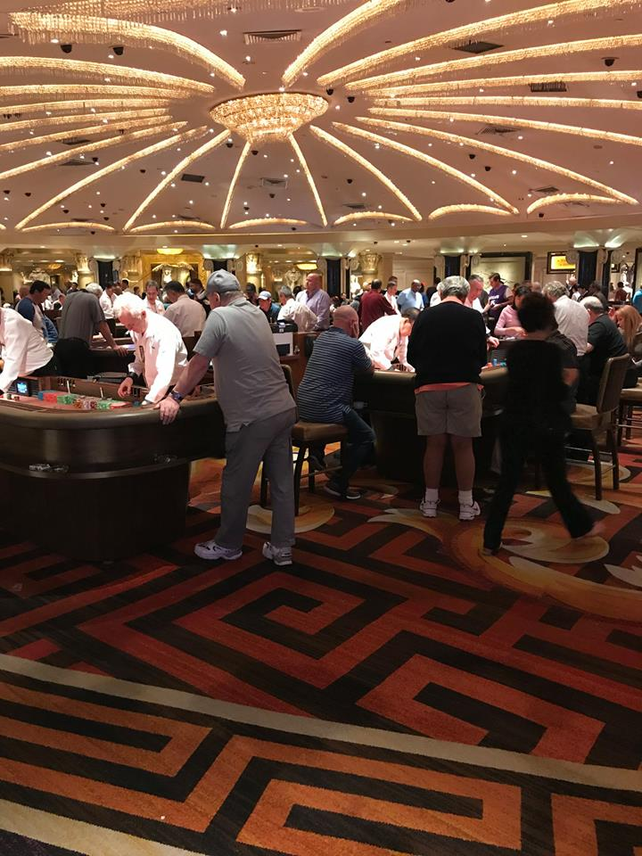 Photograph of Casino tables