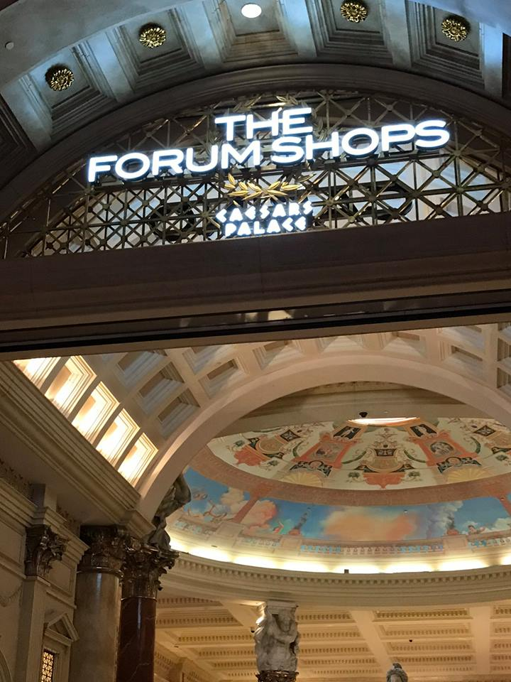 Photograph of The Forum Shops