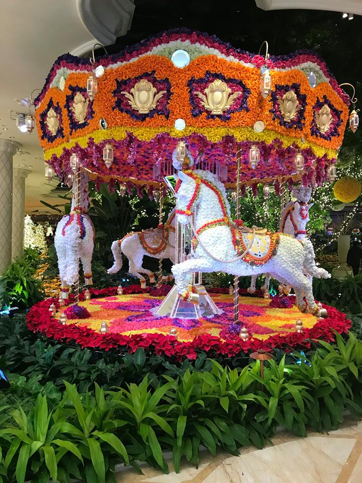 Photograph of horse carousel