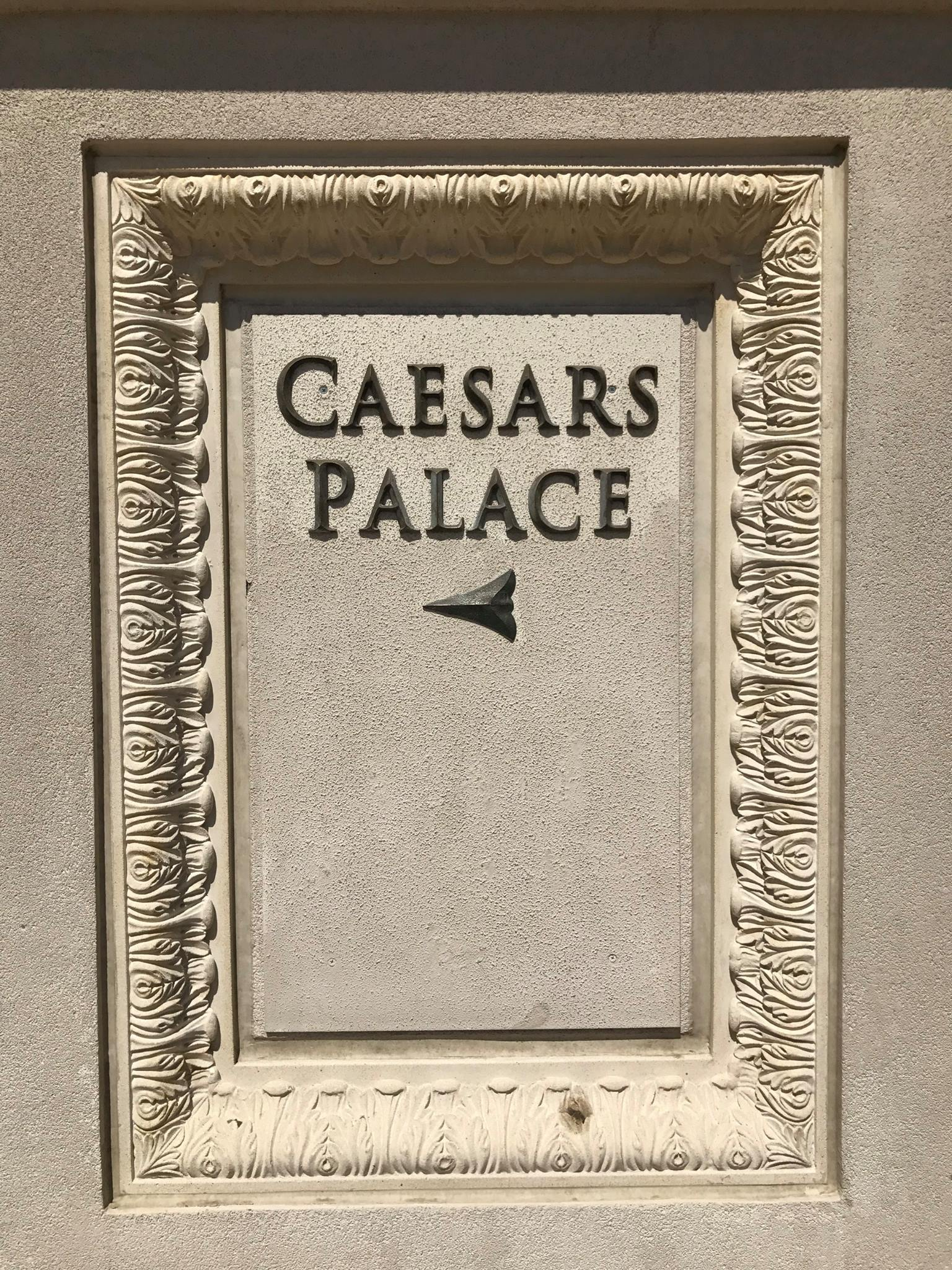Picture of Caesars Palace Entrance sign