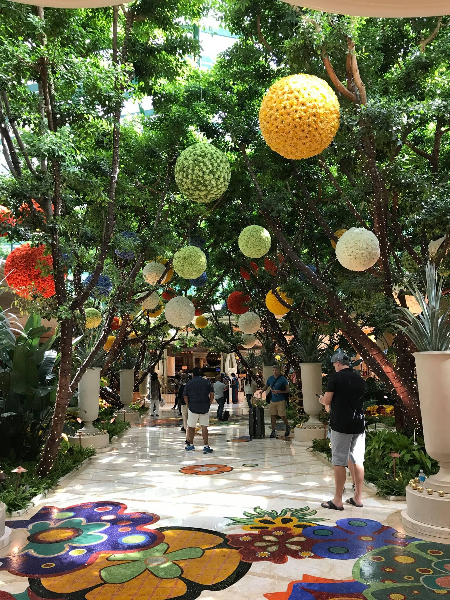 Picture of entranceway/lobby at Wynn