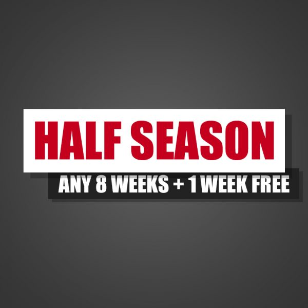 pick any weeks half season package