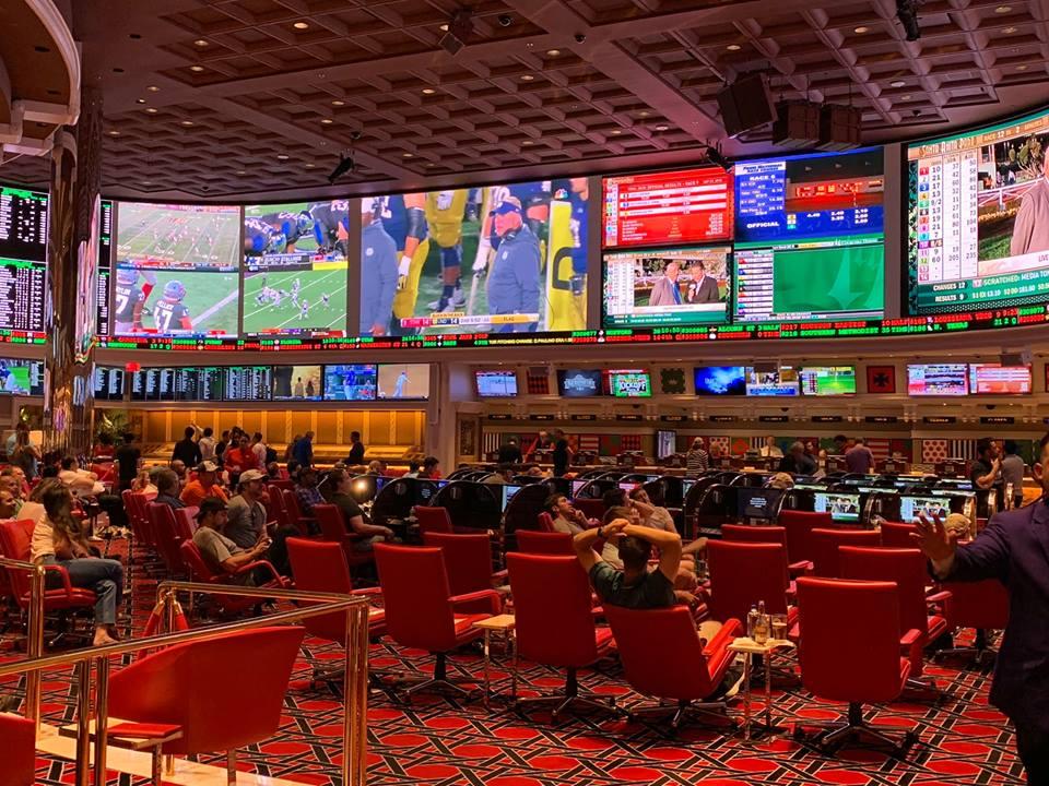 casino television screens sports betting